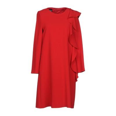 BOUTIQUE MOSCHINO ミニワンピース&ドレス レッド 38 70% トリアセテート 30% ポリエステル ミニワンピース&ドレス