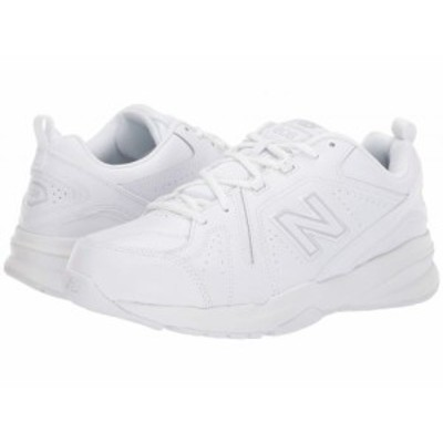 New Balance ニューバランス メンズ 男性用 シューズ 靴 スニーカー 運動靴 608v5 White/White【送料無料】