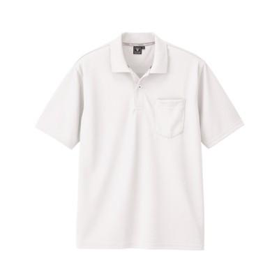 ジーベック 6030 半袖ポロシャツ ポロシャツ, Tops