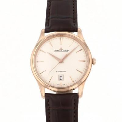 ジャガー・ルクルト マスター ウルトラスリム デイト Q1232510 アイボリー文字盤 メンズ 腕時計 新品