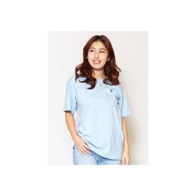 【Kahiko】ALOHAコンチョTシャツ ブルー