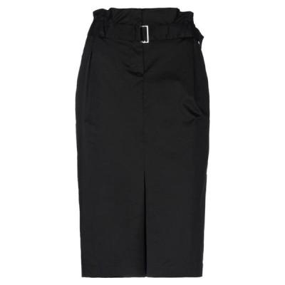 LIU JO 七分丈スカート  レディースファッション  ボトムス  スカート  ロング、マキシ丈スカート ブラック