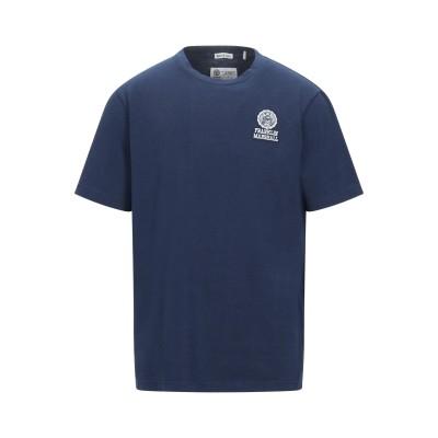 フランクリン & マーシャル FRANKLIN & MARSHALL T シャツ ダークブルー XS コットン 100% T シャツ