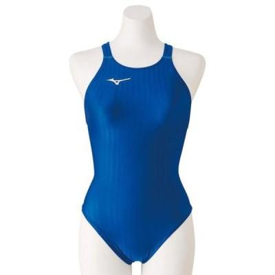 競泳用ミディアムカット(レースオープンバック)(レディース) MIZUNO ミズノ スイム 競泳水着 STREAM ACE レースオープンバック (N2MA0223)