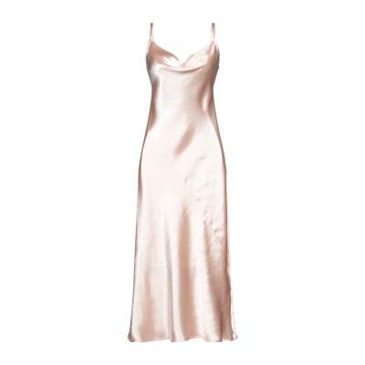 カオス KAOS ロングワンピース&ドレス ライトピンク 42 ポリエステル 100% ロングワンピース&ドレス