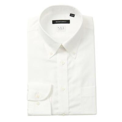 【NON IRON STRETCH】ボタンダウンカラードレスシャツ 織柄 〔EC・BASIC〕