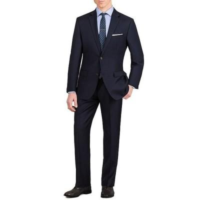 ムラノ メンズ ジャケット・ブルゾン アウター Slim-Fit Solid Single-Breasted Wool Suit
