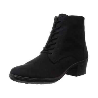 [アサヒ トップドライ] ブーツ レイン 防水性 ゴアテックス TDY-3924A ブラックスエード 24.5cm 3E