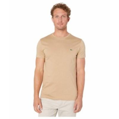ラコステ メンズ シャツ トップス Short-Sleeve Pima Jersey Crewneck T-Shirt Viennese