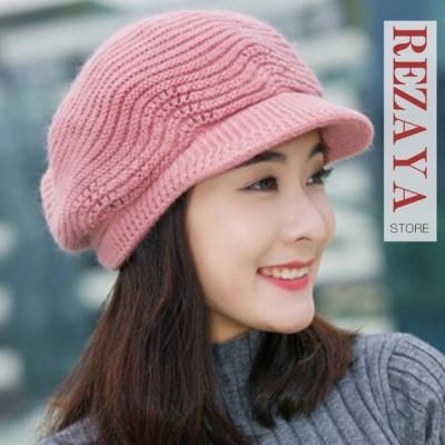 ニット帽 レディース メンズ 秋冬 帽子 ニットキャップ 防風  韓国風 無地 カジュアル お揃い カップル ペアルック ふわふわ もこもこ 編み目 あったか 防寒