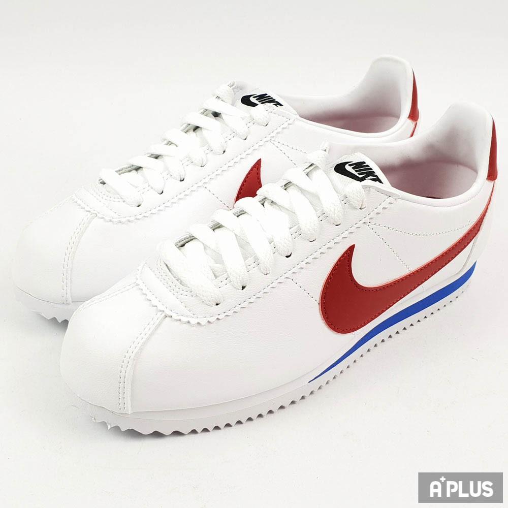 NIKE 男女 WMNS CLASSIC CORTEZ LEATHER 休閒鞋 阿甘鞋 情侶鞋 - 807471103