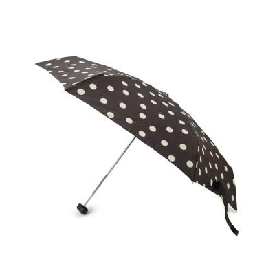 シューラルー SHOO-LA-RUE because コンパクトポーチ ドット折り畳み傘 (ブラック)