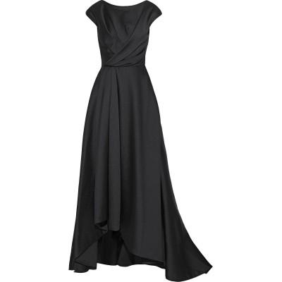 ジェイソン・ウー JASON WU 7分丈ワンピース・ドレス ブラック 2 ポリエステル 85% / シルク 11% / ナイロン 4% 7分丈ワン