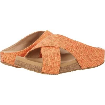 ボラティル VOLATILE レディース サンダル・ミュール シューズ・靴 Delann Burnt/Orange Linen