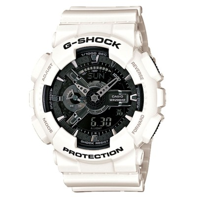 【G-SHOCK】White and Black Series(ホワイト&ブラックシリーズ) / GA-110GW-7AJF / Gショック (ホワイト×ブラック)