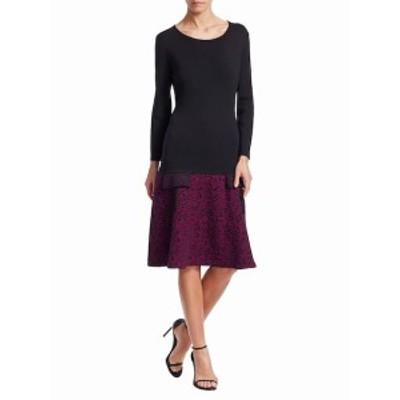 オスカーデラレンタ レディース ワンピース Flared Skirt Wool Dress