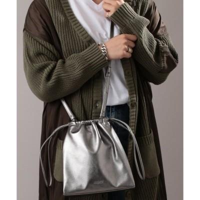 ショルダーバッグ バッグ 【WEB&DEPOT限定】ドローストリング ショルダーバッグ/ 巾着バッグ/ DRAWSTRING SHOULDER BAG