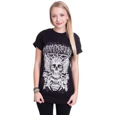 インペリコン Impericon レディース Tシャツ トップス - Crossbone Eye Skeleton - T-Shirt black