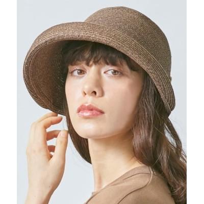 OVERRIDE / 【OVERRIDE】P.B Edge-up Breton / 【オーバーライド】ペーパー エッジアップ ブルトン ハット WOMEN 帽子 > ハット