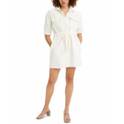 リーバイス レディース ワンピース トップス Ainsley Utility Dress New Ecru