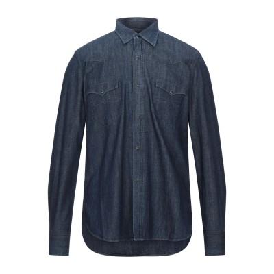 バグッタ BAGUTTA デニムシャツ ブルー 2 コットン 100% デニムシャツ