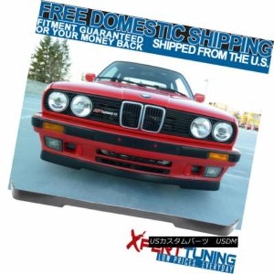 フィット84-92 BMW E30 3シリーズ下部Valance OE MTECh MsportフロントバンパーリップPU