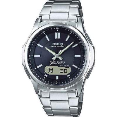 【送料無料】カシオ ソーラー電波腕時計〈WVA−M630D−1AJF〉 [W-F](do)