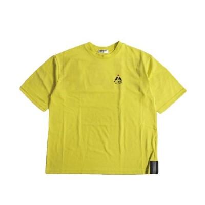 ASIANZ HEAD2 エイジアンズヘッズ 140-160cm バックロゴワイド半袖Tシャツ Lグリーン メール便OK 2020春夏 ユニセックス 男女兼用 子供服