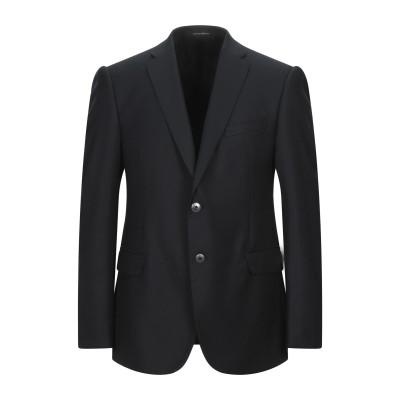 エンポリオ アルマーニ EMPORIO ARMANI テーラードジャケット ブラック 52 バージンウール 100% テーラードジャケット