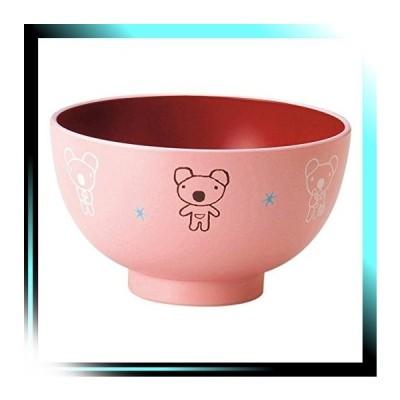 ピンク 塗 汁椀 「 うっかり ペネロペ 」 塗 汁椀 M ピンク 7875
