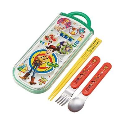 スケーター 弁当用箸 子供用 トリオセット 箸 スプーン フォーク トイ・ストーリー 4 ディズニー 日本製 16.5cm TCS1AM