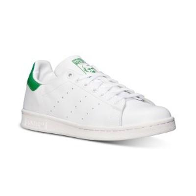 アディダス メンズ スニーカー シューズ Men's Stan Smith Casual Sneakers from Finish Line White, Fairway