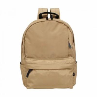 バッグ 10ポケ撥水デイパック Lサイズ YO19-0553L ベージュ デイパック