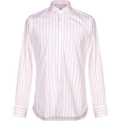 グリエルミノッティ GUGLIELMINOTTI メンズ シャツ トップス Striped Shirt Pink