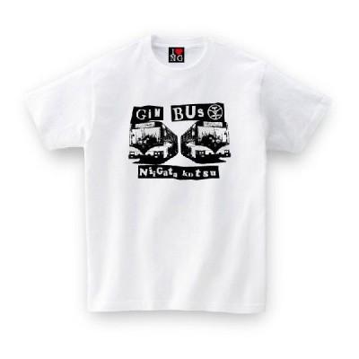 ご当地Tシャツ 新潟県 GINBUS ホワイト おもしろtシャツ メンズ レディース ギフト GIFTEE