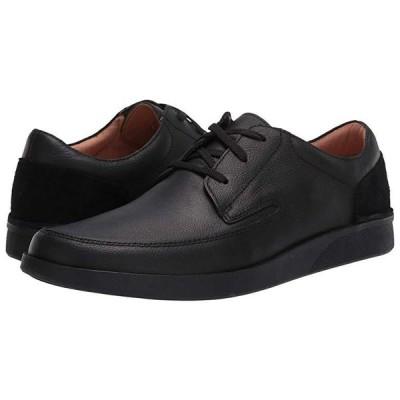 クラークス Oakland Craft メンズ オックスフォード Black Leather