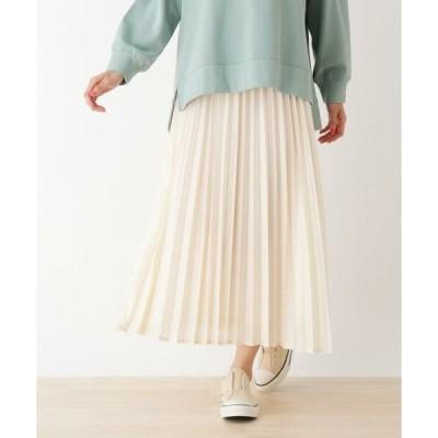 SHOO・LA・RUE / シューラルー 【S-LL】カレンダーシフォンプリーツスカート