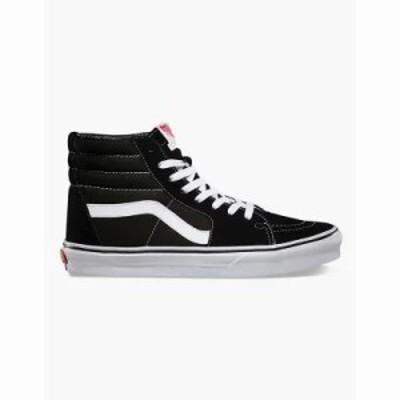 ヴァンズ スニーカー Sk8-Hi Shoes Black/White