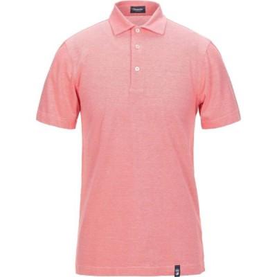 ドルモア DRUMOHR メンズ ポロシャツ トップス polo shirt Coral