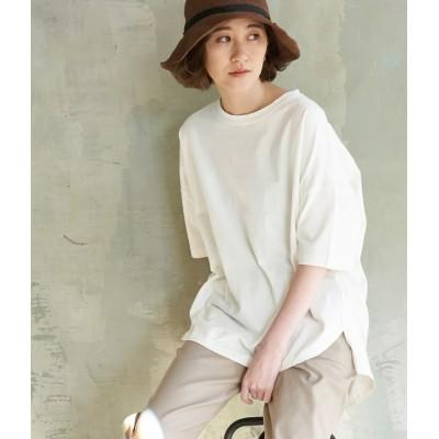 ロペピクニック/【予約】/【ORGANIC COTTON】バックシャンTシャツ/オフホワイト/38