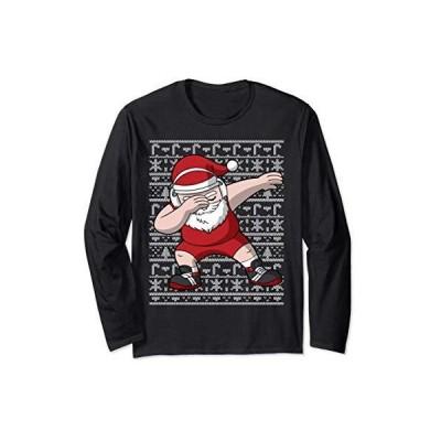 Wrestling Santa Dabbing Ugly Christmas Wrestler Wrestle Gift 長袖Tシャツ