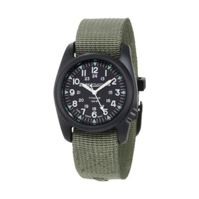 (輸入品)Bertucci Men's 12028 A-2T Vintage Durable Titanium Field Watch