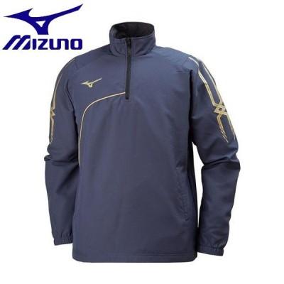 ◆◆ <ミズノ> MIZUNO トレーニングクロスシャツ[ユニセックス] P2MC8040 (14:ネイビー)