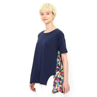 tシャツ Tシャツ サンシャイン|ミックスファブリックチュニック