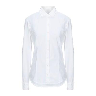 EUROPEAN CULTURE シャツ ホワイト XL コットン 95% / ゴム 3% / レーヨン 2% シャツ