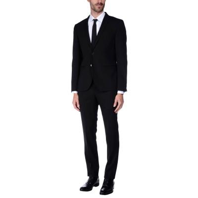 マニュエル リッツ MANUEL RITZ スーツ ブラック 54 ポリエステル 54% / ウール 44% / ポリウレタン 2% スーツ