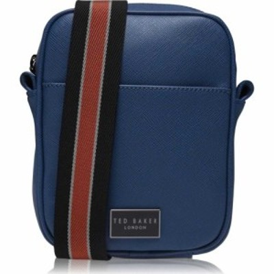 テッドベーカー Ted Baker メンズ ショルダーバッグ バッグ Porthos Small Flight Bag BLUE