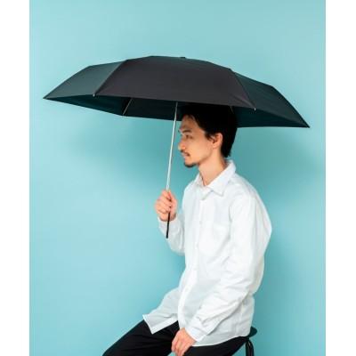 【ヴィータフェリーチェ】 ワイド折りたたみ傘(親骨60cm/ユニセックス) メンズ ブラック F VitaFelice