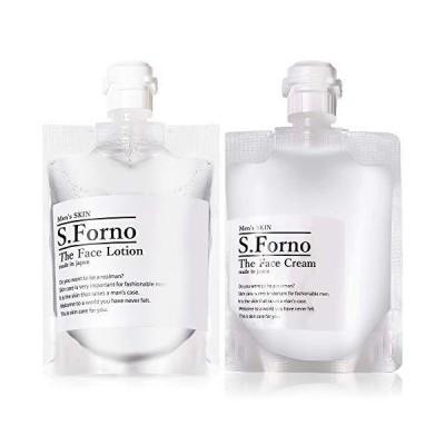 【S.Forno(エスフォルノ)】 The Face Lotion & The Face Cream 4つの幹細胞配合