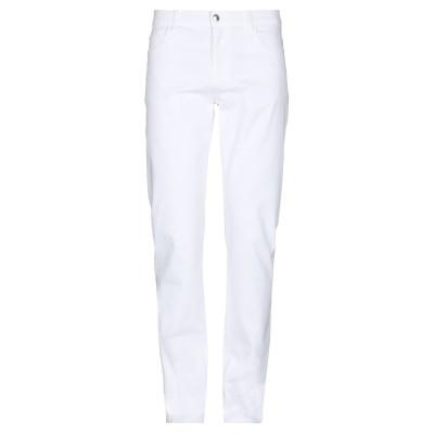 ブルー レ・コパン BLUE LES COPAINS パンツ ホワイト 56 コットン 93% / ポリウレタン 7% パンツ